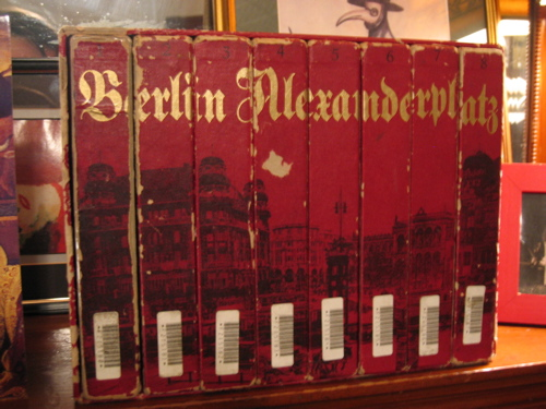 Battered box set of Fassbinder's Berlin Alexanderplatz