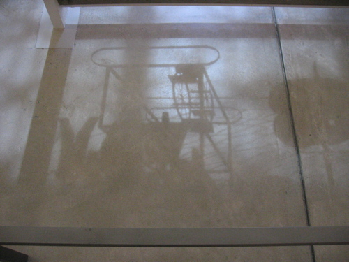 Shadows cast by Large Glass