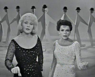"Peggy Lee and Judy Garland singing ""I Like Men"""