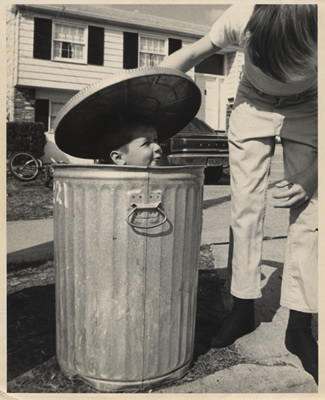 Oscar the Grouch or Nagg and Nell?