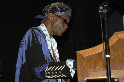 Worrell at Woodstock Film Festival 2005